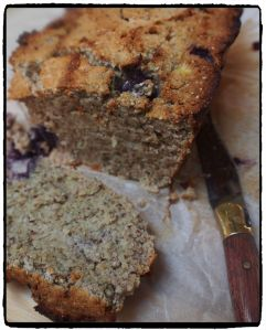Banana Chia Loaf (made with coconut flour)
